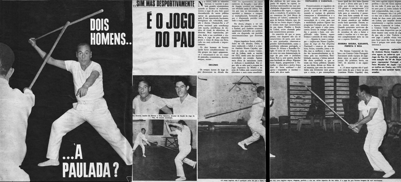 jogo do pau, artigo 1968