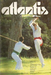 Capa Atlantis, Revista de bordo da TAP- 1986